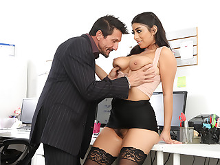 Big Tit Office Chicks #06!