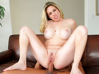 Wife Angela Attison Anally Creampied Right Next to Her Cuckold Husband